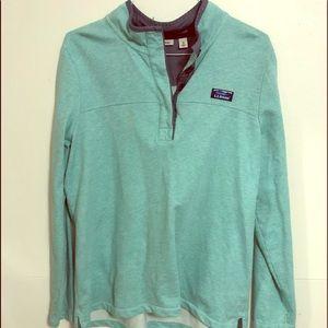 XL LL Bean Women's soft cotton polo shirt, new